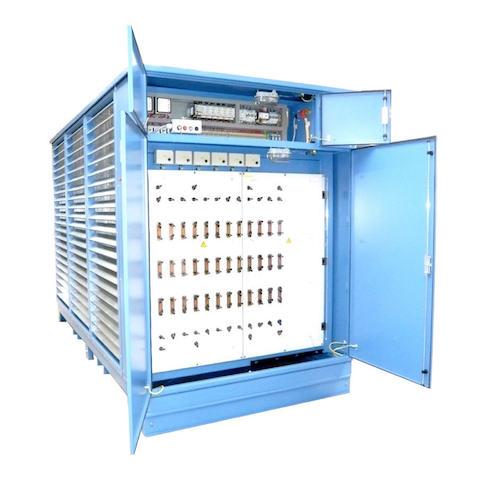 USV-Geräte, Netzgeräte, Spannungsbegrenzer, Frequenzumrichter, Kondensatoren, 100, 200, 300, 400, 500, 600, kW, Leistungswiderstand, Leistungswiderstände, Nickel-Chrom-Widerstand, Stahlgitter, Prüfwiderstand, Prüfwiderstände, Entladewiderstand, Entladewiderstände, Container, Montage, Akkumulatoren, Akkus, hochbelastbar, Prüffeld, Prüffelder, Laboratorien, Labors, Platthaus, Widerstandsbau, Megawatt, MW, konstanter Strom, Batterien, Batterie, Generator, Generatoren, Motor, Motoren, ohmsche, induktive, Belastungswiderstand, Belastungswiderstände, Belastungswiederstand, Lastwiderstand, Lastbank, Gleichspannung, Gleichstrom, Wechselspannung, Wechselstrom, Drehstrom, AC, DC, DS, GBW, WBW, DBW, BW, Stationäre Anlage, Steuereinheit, dezentrale Bedienung, Außenaufstellung